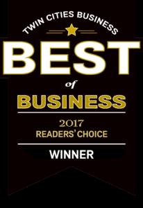 Reader's choice award winner
