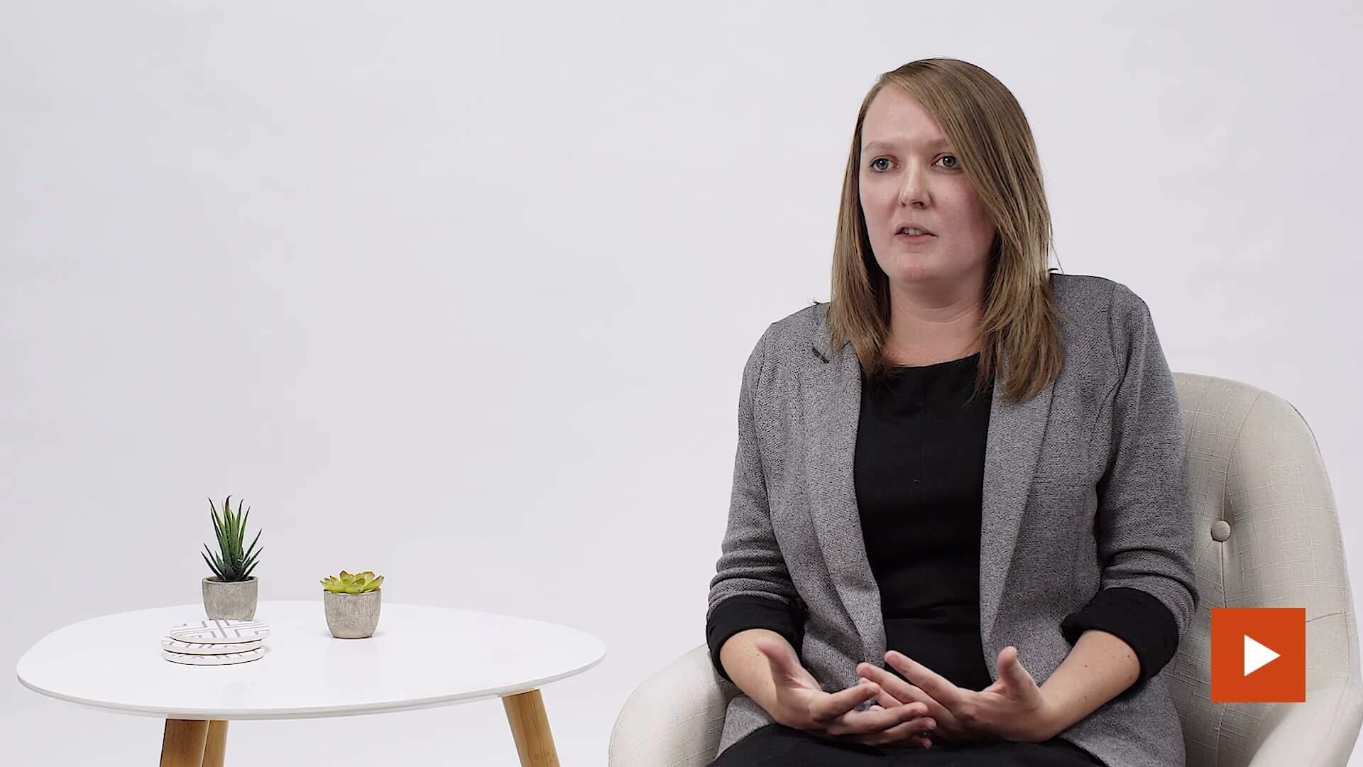 Click to play Megan Tiegs testimonial video